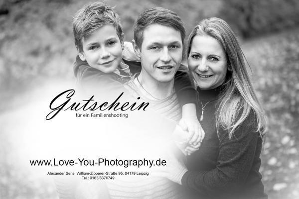 Familienshooting Leipzig Gutschein