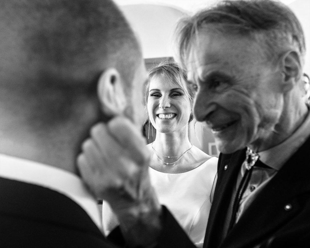 Vater der Braut - Bräutigam - Trauung