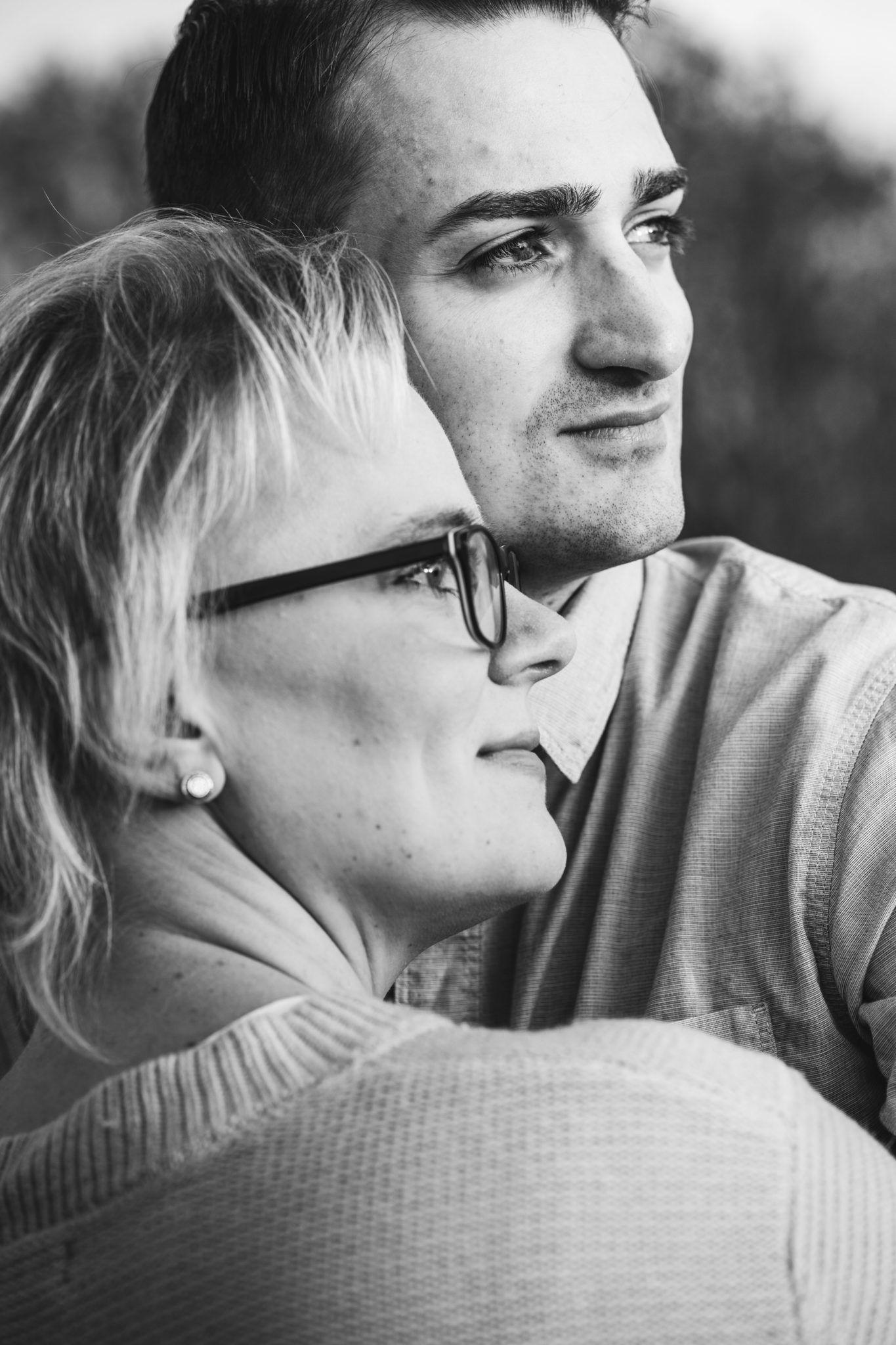 Paarshooting Leipzig Fotograf romantisch Herbst